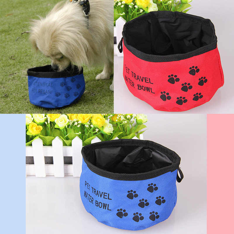 Outdoor-Folding-Travel-Hiking-Camping-Dog-Cat-Pet-Food-Water-Bowls-Dishes