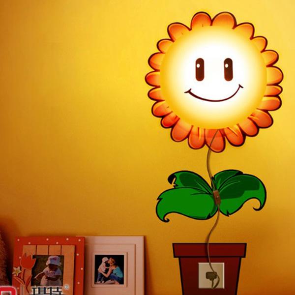 led light 3d removeable wall sticker diy kids 39 bedroom