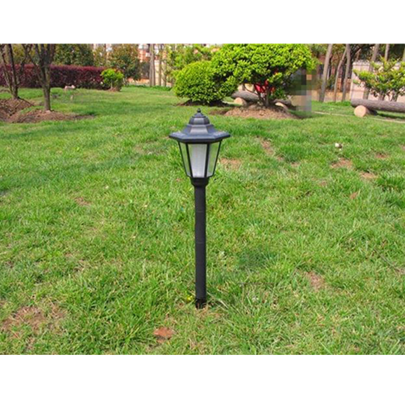 vintage style outdoor garden solar lamp post landscape path light. Black Bedroom Furniture Sets. Home Design Ideas